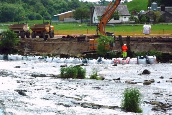 WCHL week 3 preparation for coffer dam