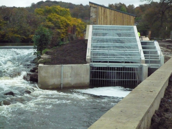 outfall ready for generating
